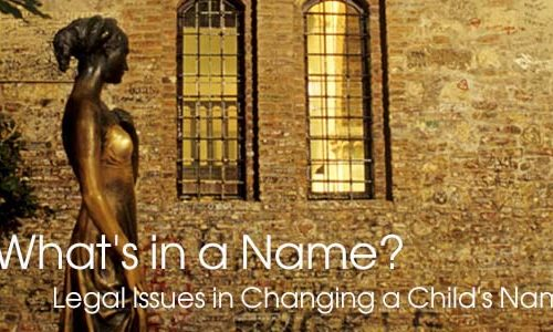 change-child-name-legal-issues